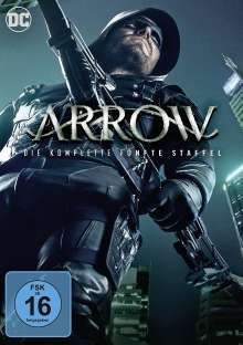 Arrow Staffel 5, 5 DVDs