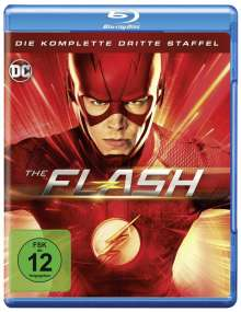 The Flash Staffel 3 (Blu-ray), 4 Blu-ray Discs