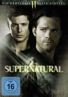 Supernatural Staffel 11, 6 DVDs