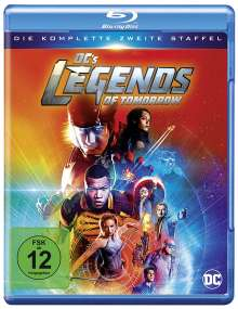 DC's Legends of Tomorrow Staffel 2 (Blu-ray), 3 Blu-ray Discs