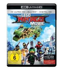 The Lego Ninjago Movie (Ultra HD Blu-ray & Blu-ray), 2 Ultra HD Blu-rays