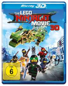 The Lego Ninjago Movie (3D Blu-ray), Blu-ray Disc