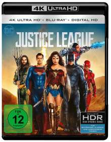 Justice League (Ultra HD Blu-ray), Ultra HD Blu-ray