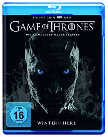 Game of Thrones Season 7 (Blu-ray), 3 Blu-ray Discs