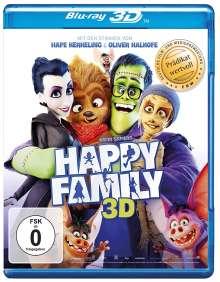 Happy Family (3D Blu-ray), Blu-ray Disc