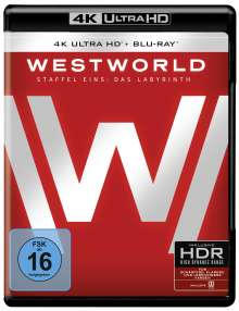 Westworld Staffel 1: Das Labyrinth (Ultra HD Blu-ray & Blu-ray), 3 Ultra HD Blu-rays