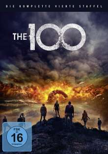 The 100 Staffel 4, 3 DVDs