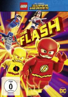 LEGO DC Super Heroes: The Flash, DVD