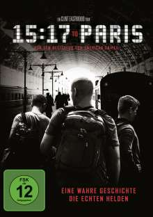 15:17 to Paris, DVD
