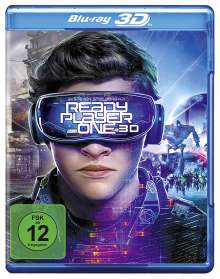 Ready Player One (3D Blu-ray), Blu-ray Disc