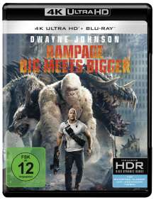 Rampage (2018) (Ultra HD Blu-ray & Blu-ray), Ultra HD Blu-ray