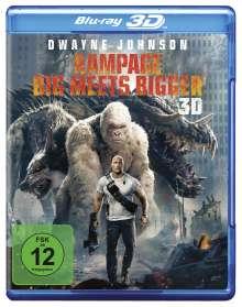 Rampage (2018) (3D Blu-ray), Blu-ray Disc