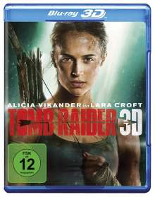Tomb Raider (2018) (3D Blu-ray), Blu-ray Disc