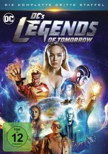 DC's Legends of Tomorrow Staffel 3, 4 DVDs