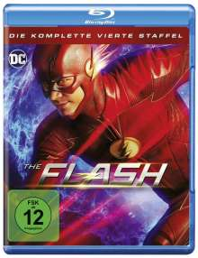 The Flash Staffel 4 (Blu-ray), 4 Blu-ray Discs