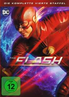 The Flash Staffel 4, 5 DVDs