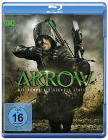 Arrow Staffel 6 (Blu-ray), 4 Blu-ray Discs