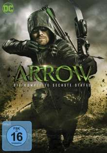 Arrow Staffel 6, 5 DVDs