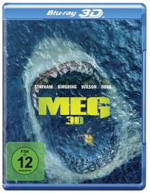 MEG (3D Blu-ray), Blu-ray Disc