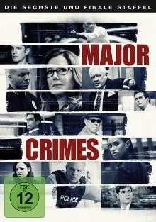 Major Crimes Season 6 (finale Staffel), 3 DVDs