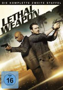 Lethal Weapon Season 2, 4 DVDs