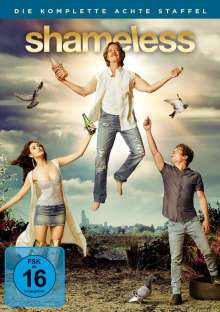 Shameless Season 8, 3 DVDs