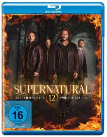 Supernatural Staffel 12 (Blu-ray), 6 Blu-ray Discs