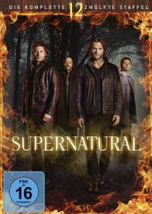 Supernatural Staffel 12, 6 DVDs