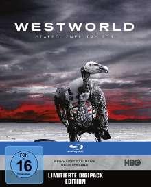 Westworld Staffel 2: Die Tür (Blu-ray), 3 Blu-ray Discs
