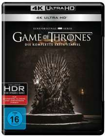 Game of Thrones Season 1 (Ultra HD Blu-ray), 4 Ultra HD Blu-rays