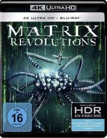Matrix Revolutions (Ultra HD Blu-ray & Blu-ray), 1 Ultra HD Blu-ray und 1 Blu-ray Disc