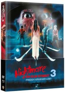 Nightmare on Elm Street 3: Freddy Krüger lebt (Blu-ray & DVD im wattierten Mediabook), 2 Blu-ray Discs