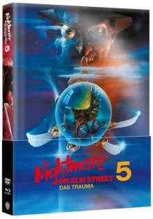 Nightmare on Elm Street 5: Das Trauma (Blu-ray & DVD im wattierten Mediabook), 1 Blu-ray Disc und 1 DVD