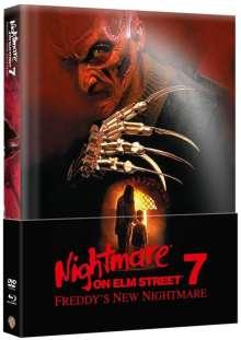 Nightmare on Elm Street 7: Freddy's New Nightmare (Blu-ray & DVD im wattierten Mediabook), 2 Blu-ray Discs