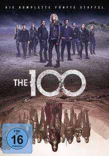 The 100 Staffel 5, 3 DVDs