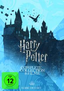 Harry Potter Complete Collection (8 Filme), 8 DVDs