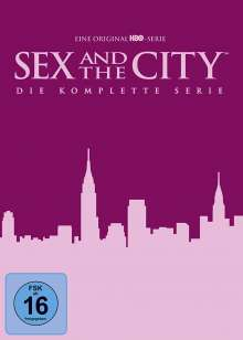 Sex and the City (Komplette Serie), 17 DVDs