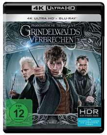 Phantastische Tierwesen: Grindelwalds Verbrechen (Ultra HD Blu-ray & Blu-ray), Ultra HD Blu-ray