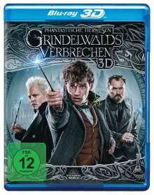 Phantastische Tierwesen: Grindelwalds Verbrechen (3D Blu-ray), Blu-ray Disc