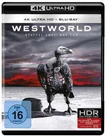 Westworld Staffel 2: Die Tür (Ultra HD Blu-ray & Blu-ray), 3 Ultra HD Blu-rays