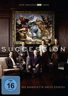 Succession Season 1, 4 DVDs