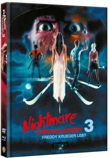 Nightmare on Elm Street 3: Freddy Krüger lebt (Blu-ray & DVD im Mediabook), 2 Blu-ray Discs