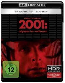 2001: Odyssee im Weltraum (Ultra HD Blu-ray & Blu-ray), 1 Ultra HD Blu-ray und 2 Blu-ray Discs