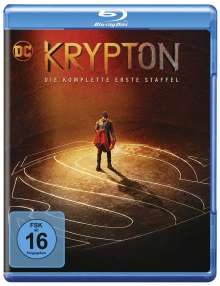 Krypton Staffel 1 (Blu-ray), 2 Blu-ray Discs