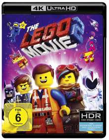 The Lego Movie 2 (Ultra HD Blu-ray & Blu-ray), 2 Ultra HD Blu-rays