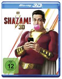 Shazam! (3D Blu-ray), Blu-ray Disc