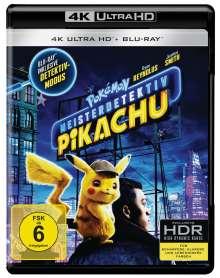 Pokémon Meisterdetektiv Pikachu (Ultra HD Blu-ray & Blu-ray), 2 Ultra HD Blu-rays