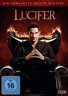 Lucifer Season 3, 3 DVDs