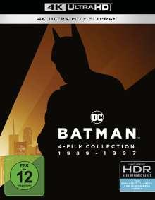 Batman 1-4 (Ultra HD Blu-ray & Blu-ray), 4 Ultra HD Blu-rays