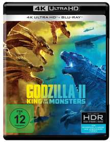 Godzilla II: King of the Monsters (Ultra HD Blu-ray & Blu-ray), 2 Ultra HD Blu-rays